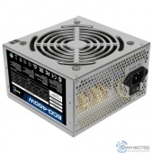 Aerocool 450W Retail ECO-450W ATX v2.3 Haswell, fan 12cm, 400mm cable, power cord, 20+4P, 12V 4P, 1x PCI-E 6P, 2x SATA, 2x PATA, 1x FDD
